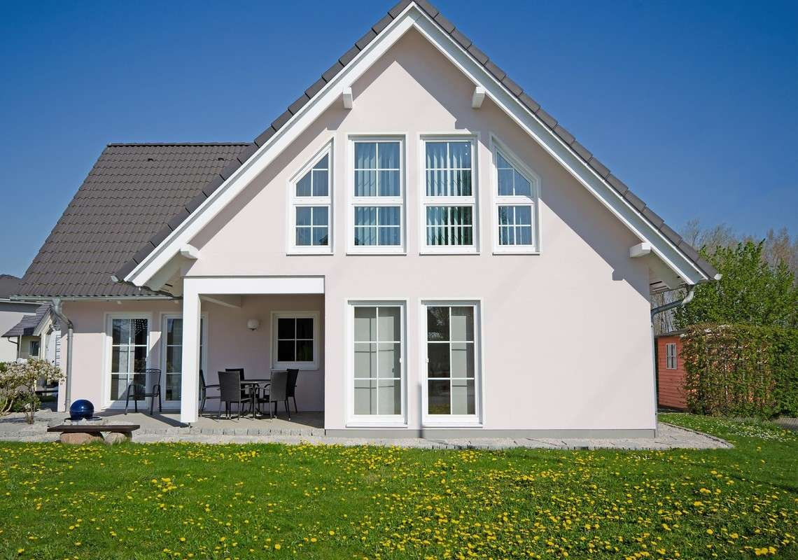 STREIF Musterhaus - Große Fenster sorgen für helle Räume