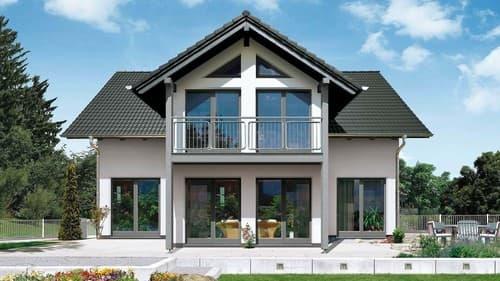 Fingerhut Haus R 102.10 Außenansicht auf Bauplatz