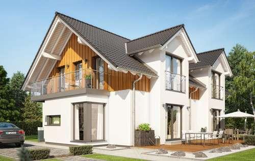 Mehrgenerationenhaus Holzfassade