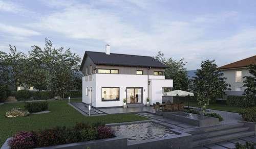 Villa mit Pool und Garten