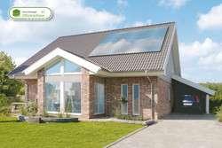 Eigenheim mit Klinkerfassade