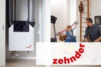Der Raumklimaspezialist Zehnder ist europaweit impulsgebend in puncto komfortabler Wohnraumlüftung mit Wärmerückgewinnung sowie einer der traditionsreichsten Technologie- und Designführer der Heizkörperbranche.