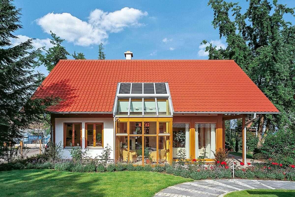 Traditionelles Haus für die Familie