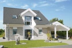 Eigenheim im nordischen Design