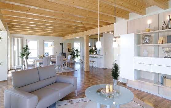 Holzdesign im Wohnzimmer