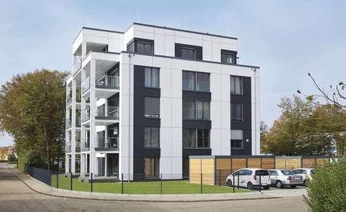 5-geschossiges Mehrfamilienhaus von WeberHaus