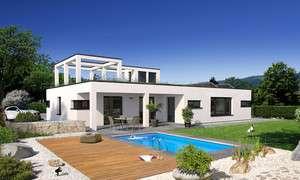 Einfamilienhaus mit Terasse und Pool